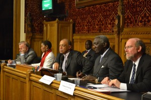 Panel Members at Parliament Event on Food Security