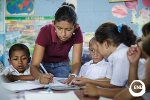 School children in Honduras