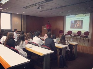 Workshop for 60 pre-medical students at Anahuac University South Campus